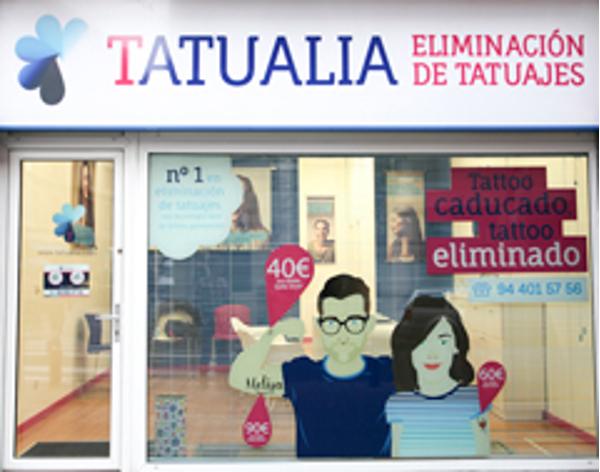 Tatualia inaugura su primera franquicia en Bilbao