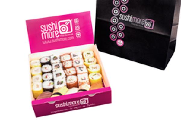 Las franquicias Sushimore apuestan por el sushi, como regalo navideño para el paladar