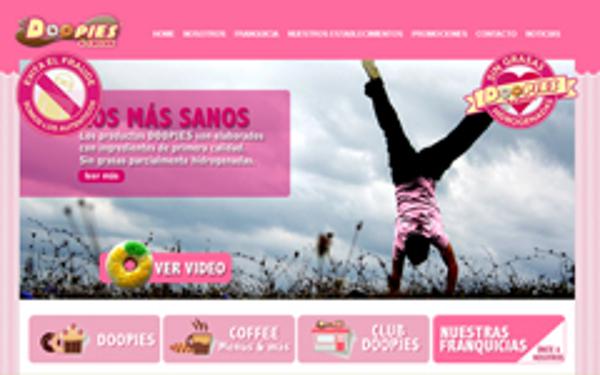 La red de las franquicias Doopies&Coffee estrena nueva web