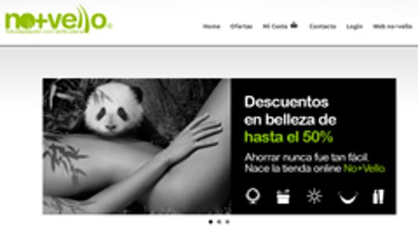 La franquicia No + Vello lanza su propia plataforma de ofertas