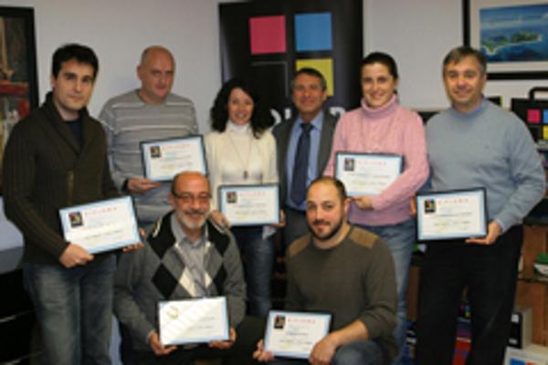 Las franquicias Color Plus Terrassa, Moratalaz, Madrid Moncloa y Catarroja finalizan su curso de formación