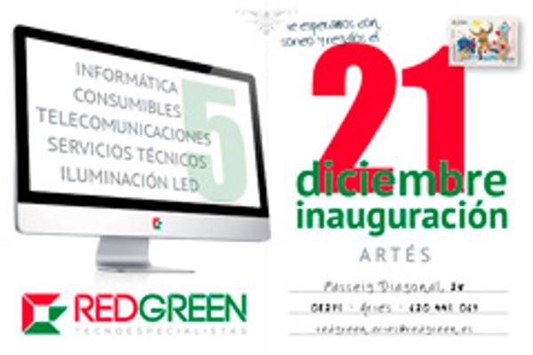 RedGreen inaugura una nueva franquicia en Artés