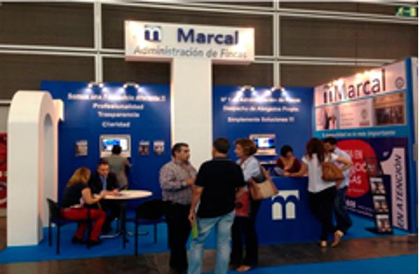 Las franquicias Marcal Administración de Fincas sumaron un nuevo éxito en SIF&Co 2013