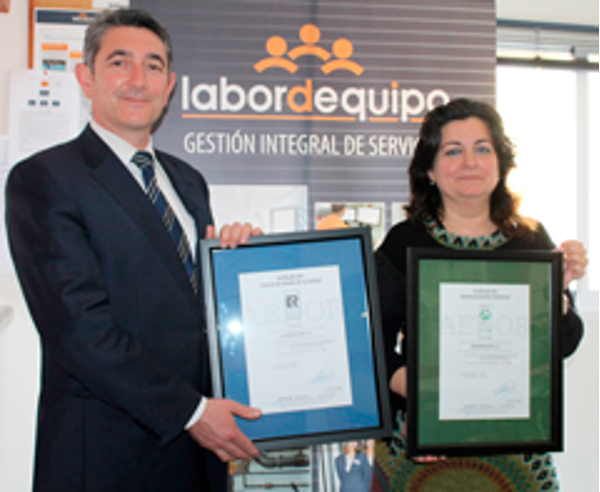 Las franquicias Labordequipo renuevan sus sistemas de gestión de Calidad ISO 9001 y Medio Ambiental 10004