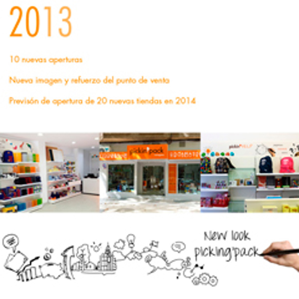 Picking Pack sumo a su red 10 nuevas franquicias en 2013