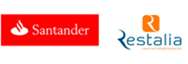 La red de franquicias Restalia y Banco Santander anuncian un acuerdo de colaboración