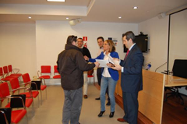 Entrega de diplomas de la franquicia Dabo Consulting en Sevilla