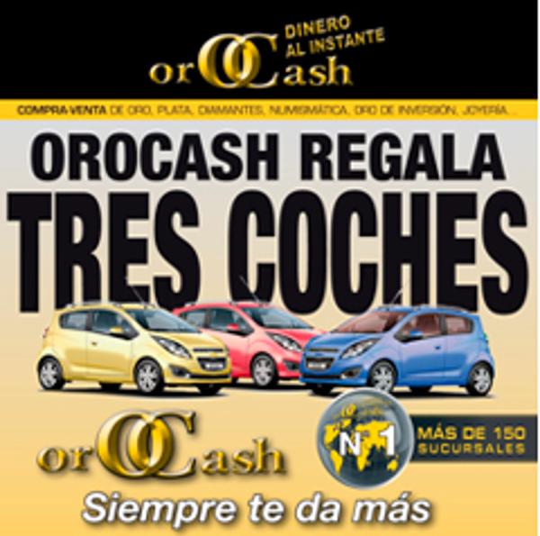 La franquicia Orocash-Orobank premia a sus clientes