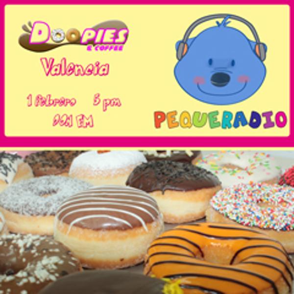 Pequeradio visita la franquicia Doopies&Coffee Valencia