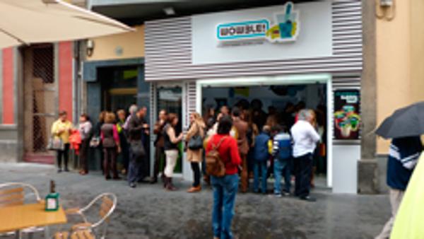 Las Palmas, isla afortunada con las franquicias Wowble!