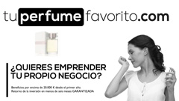 Tuperfumefavorito.com mostrará su mueble en la feria de franquicias Franquicat