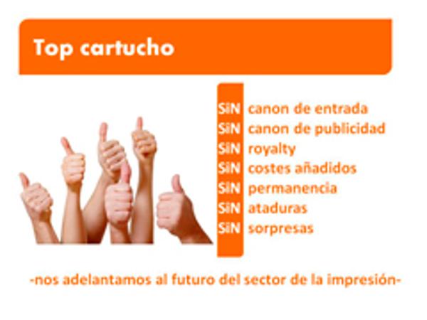 Visita de franquiciados interesados a las instalaciones de la franquicia Top Cartucho