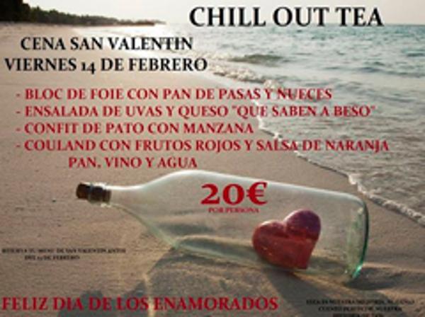 La franquicia Chill Out Tea te propone el mejor plan para celebrar San Valentín