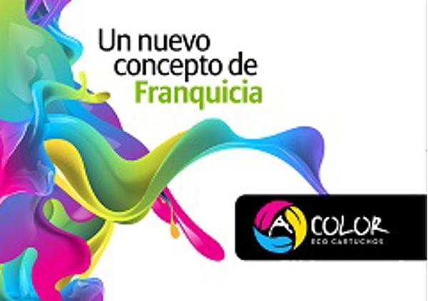 Acolor, franquicia de cartuchos ecológicos, firma nueva franquicia en Cáceres