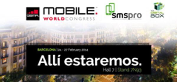 La franquicia SMS Pro asistirá al Mobile World Congress en Barcelona