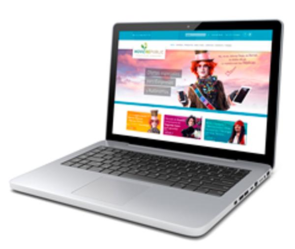 La franquicia Movilrepublic presenta una web con tienda on line