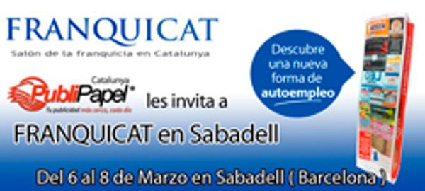 La franquicia Publipapel Catalunya estará presente en Franquicat