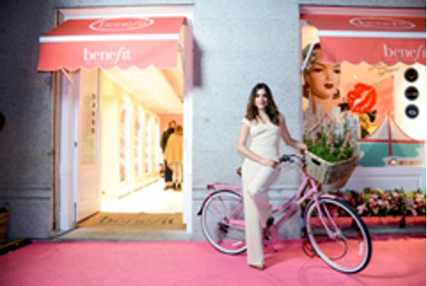 La franquicia In Bicycle We Trust colaboró en la inauguración de Benefit SAN FRANCISCO