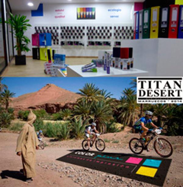 La presentación de Titan Desert tendrá lugar en la franquicia Color Plus Terrassa