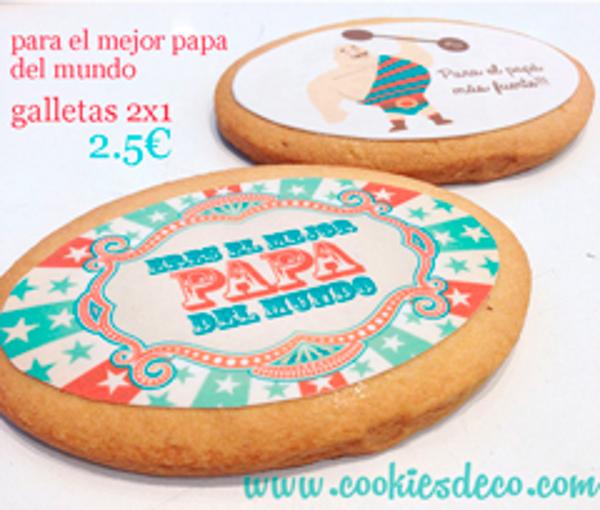 La franquicia Cookies & Deco lanza su promoción de galletas para el día del padre