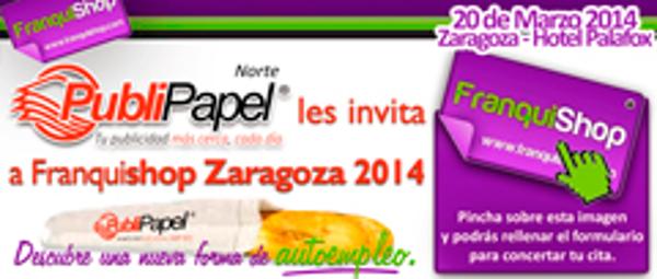 La franquicia PubliPapel asistirá a Franquishop Zaragoza