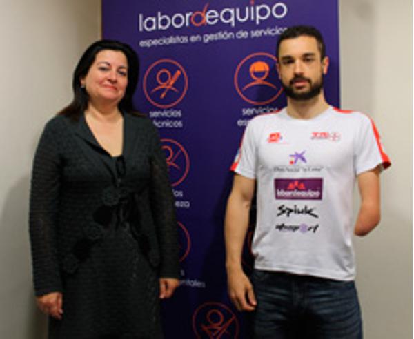 Franquicias Labordequipo y el deportista Jairo Ruiz renuevan su acuerdo de patrocinio