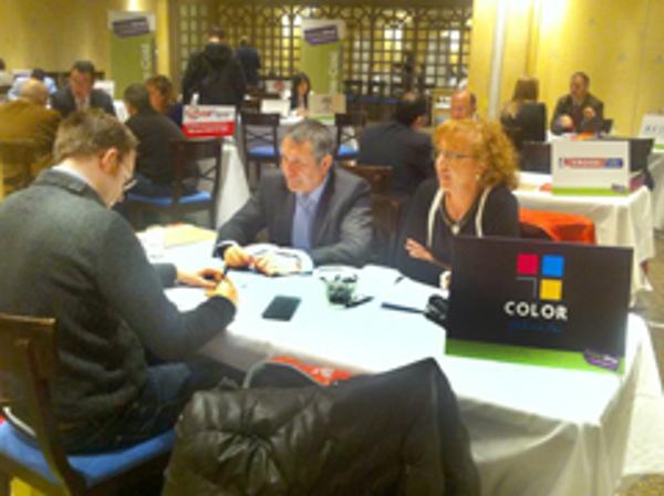 Un día ocupado en Zaragoza para las franquicias Color Plus