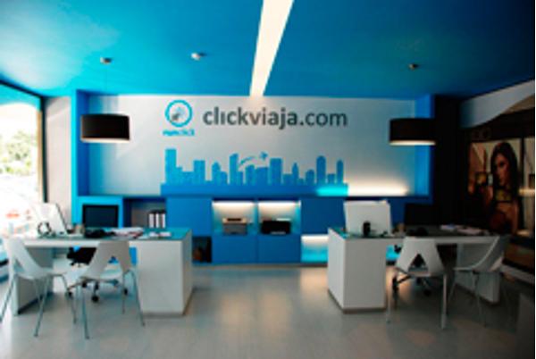 Click Viaja la franquicia de agencias de viajes que más ha crecido