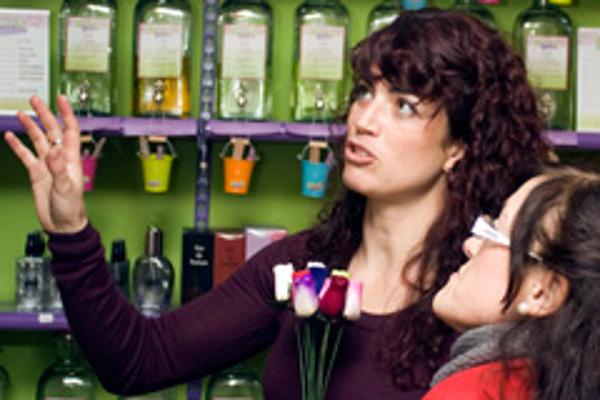La Botica de los Perfumes recibe a nuevos emprendedores en la feria de franquicias Expofranquicia