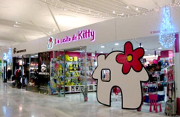 La enseña La Casita de Kitty, presente en Expofranquicia