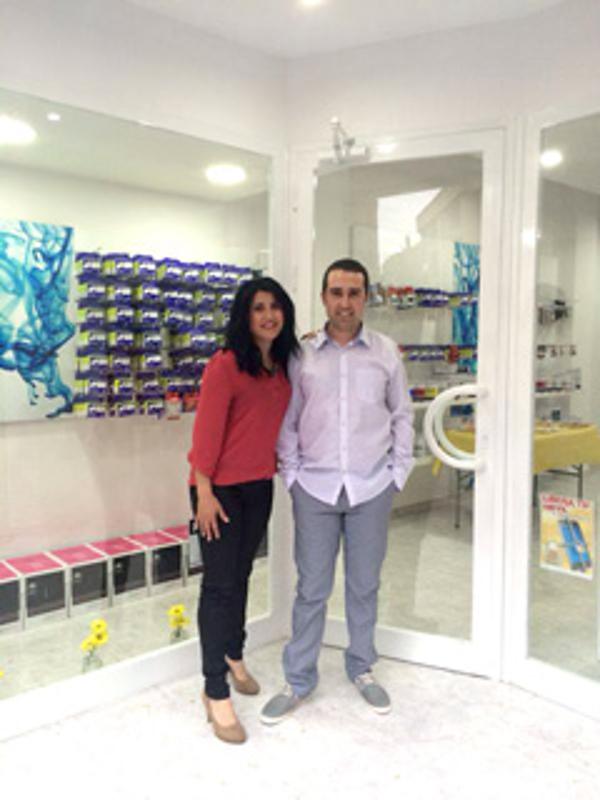 ¡Vaya Tinta! inauguró una nueva franquicia en Alcoy