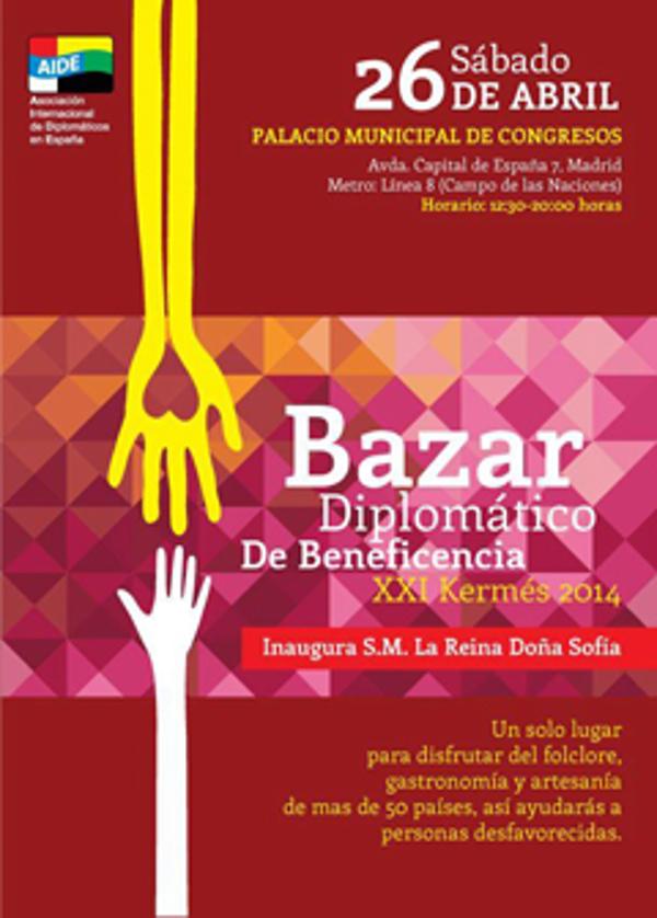 Las franquicias Refan participarán en el Bazar Diplomático de Beneficencia XXI Kermes 2014