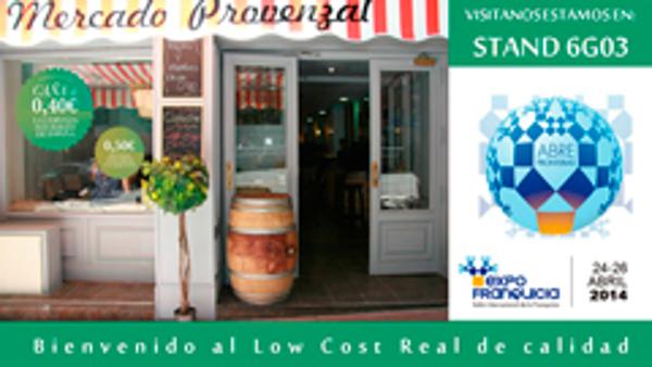 Mercado Provenzal mostrará su modelo de franquicia en Expofranquicia