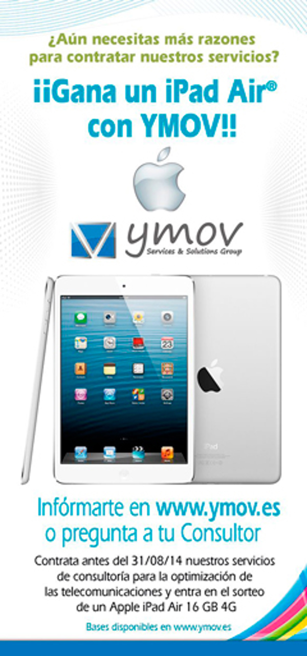 La franquicia YMOV Group sortea un iPad Air
