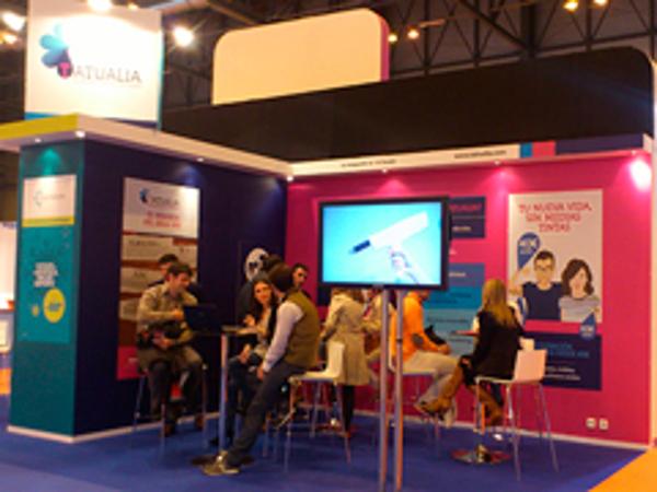 La franquicia Tatualia supera expectativas en su presentación en Expofranquicia