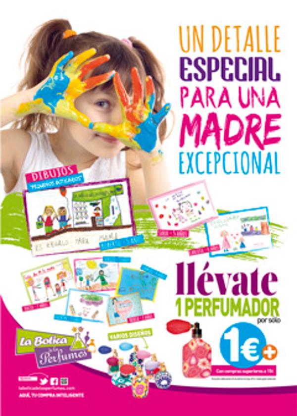 Las más de 110 franquicias de La Botica de los Perfumes celebran el Día de la Madre