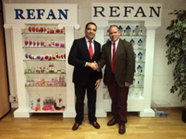 La franquicia Refan y el BBVA firman un convenio que beneficia a nuevos franquiciados