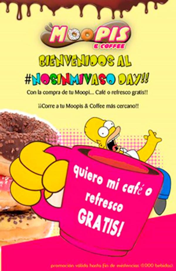 Las franquicias Moopis & Coffee premia a sus clientes con bebida y café gratis