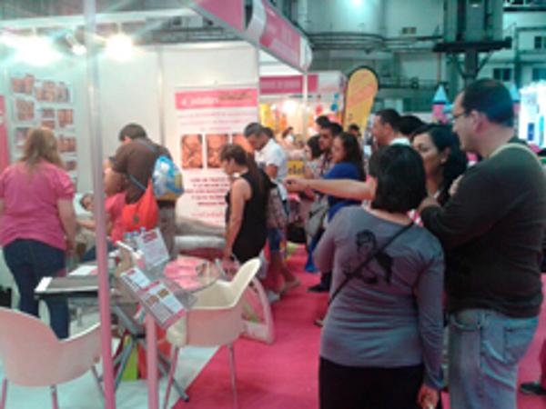 Gran exito de la franquicia Ecodadys en la edición de bebésymamás de Barcelona