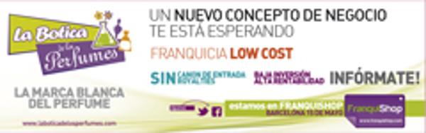 Franquishop Barcelona contará con la presencia de la franquicia La Botica de los Perfumes