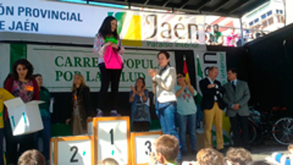 Las franquicias Nascia en la Carrera Popular por la Salud de Jaén