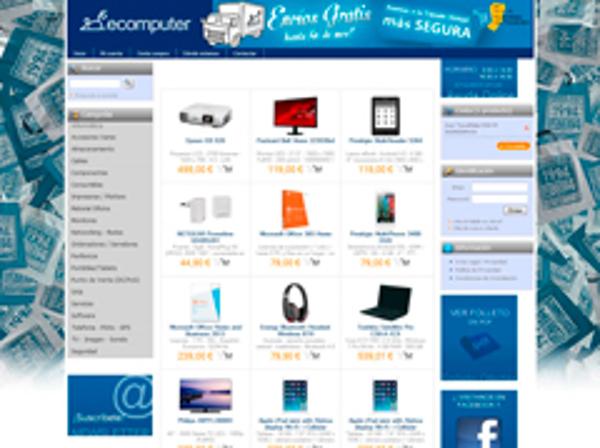 La tienda física y la virtual de la franquicia Ecomputer se complementan para beneficiar al negocio