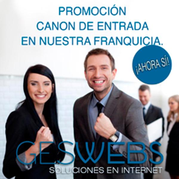 Promoción especial canon de entrada de las franquicias Geswebs