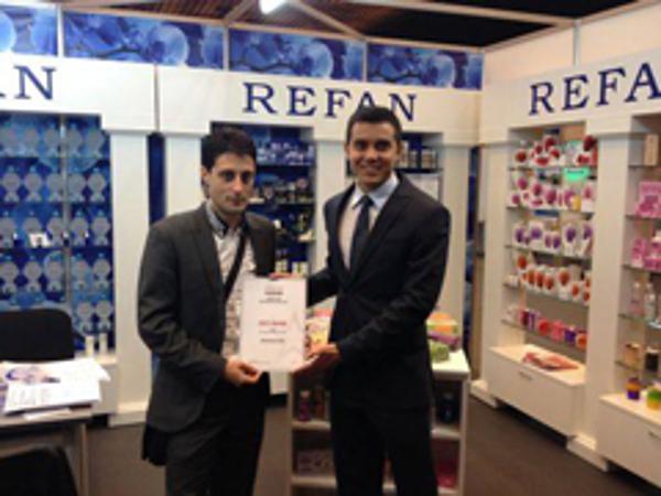 Refan recibe el premio a la mejor franquicia b�lgara de Europa