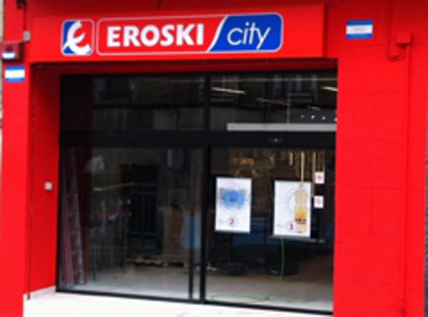 Eroski inaugura hoy una franquicia de supermercado en Portugalete