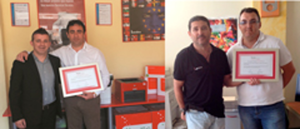 El director de la central de la franquicia Berolina visita a sus partners de Murcia y de Almería