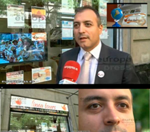 Las franquicias Línea Tours se hace ecoo en televisión y prensa nacional y radio gallega