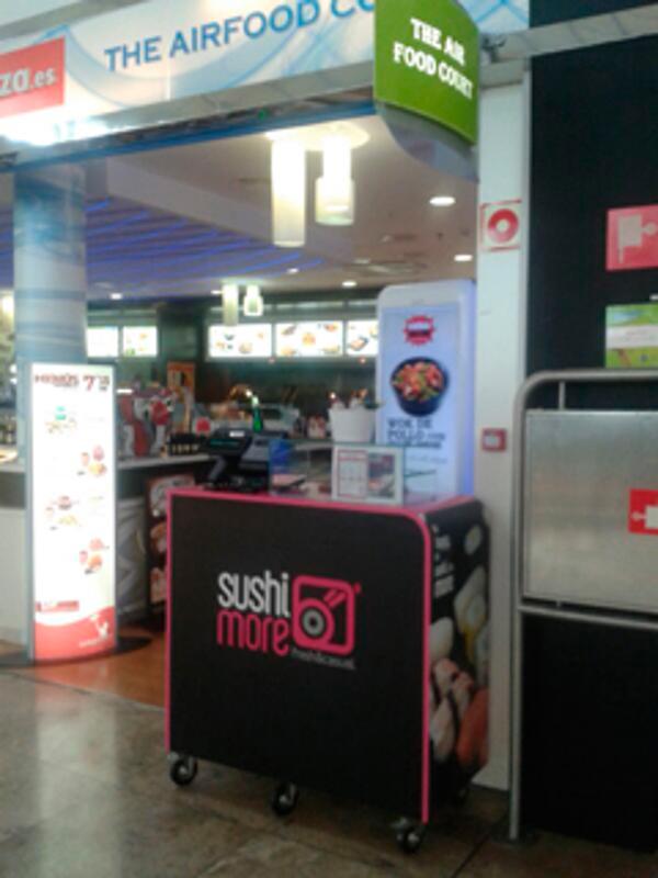 Nueva franquicia Suhimore en el Aeropuerto de Alicante