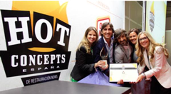 Las franquicias La Mafia reciben el premio Hot Concepts 2014 en la categoría