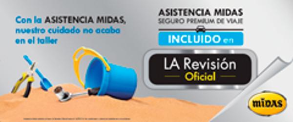 La Revisión Oficial de la franquicia Midas asegura tu viaje durante las vacaciones de verano